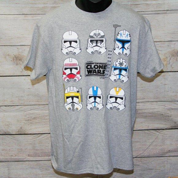 Star Wars Clone Wars Graphic Tshirt - Men Medium